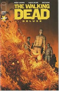 Walking Dead Deluxe # 14 Cover A Finch & McCaig Image