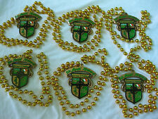GRACE O'MALLEY KREWE MARDI GRA BEAD NECKLACE LOT GASPARILLA CREST SEAHORSE PARTY