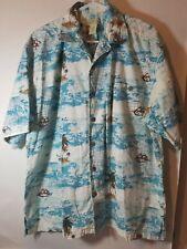 Trader Bay Mens Size XXL Short Sleeve Button-Up Hawaiian Shirt EUC