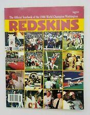 WASHINGTON REDSKINS - NFL FOOTBALL YEARBOOK - 1988 - EX++/NM SHAPE