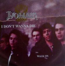 """7"""" 1989  CLASSIC ROCK MINT-! DOMAIN : I Don´t Wanna Die"""