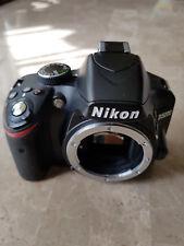 Nikon D3200 fotocamera DSLR solo corpo macchina fotografica usata buone condizioni