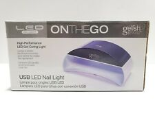 R5 Gelish Mini On-The-Go LED Light Portable Gel Nails 45 Second Cure