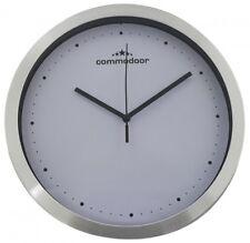 u523-07 1 Horloge murale avec 25cm diamètre rond avec aluminiumrand D0