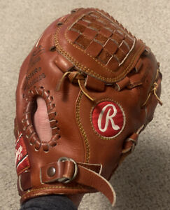 "Rawlings SG-76 Premium Series 13.25"" Baseball Softball Glove Right Hand Thrower"