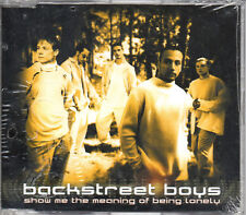 """BACKSTREET BOYS """"SHOW ME THE MEANING OF BEING LONELY"""" RARE CD SINGLE NEW SEALED"""