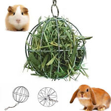 New 8cm Sphere Feed Dispenser Hanging Ball Toy Pig Hamster Rat Rabbit Pet Supply