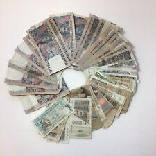 Job Lot Italian Banknotes 2,031,000 Lira 39x 50000 14x 1000 3x 5000 Etc