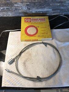 NOS Stewart Warner 3021-69 Speedometer Cable 49-55 Ford 55-56 Mercury 55 Packard