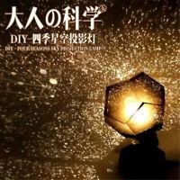 Creative Romantic Desk Led Lamp Starry Sky Projection Projector Night Lights