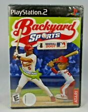 Backyard Sports: Baseball 2007 (Sony PlayStation 2, 2006) New !!
