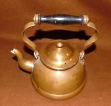 Douro Copper Tea Pot Kettle With w/ Lid Made In Portugal Good Shape