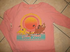 LION KING SWEATSHIRT Retro 90s Movie Throwback Disney Simba Pumbaa Timon Small