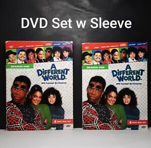 A Different World Complete Season One 1987 TV Series (DVD, 4-Disc Set, 2005)