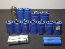 Sprague Powerlytic 36D / 36Dx / Other Mixed Lot x16 Capacitors