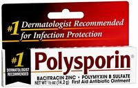 Polysporin First Aid Antibiotic Ointment 0.50 oz (Pack of 2)