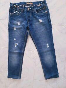 Jeans ALCOTT uomo blu CON STRAPPI tg 44