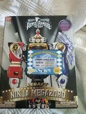 Limited Edition Autographed Mighty Morphin Power Rangers Legacy Ninja Megazord