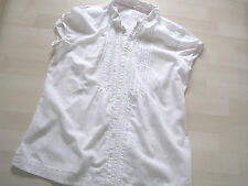 White Stuff Cotton Blend Semi Fitted Tops & Shirts for Women