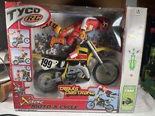 Travis Pastrana Xtreme Moto-x Cycle - Mattel Wheels - Tyco R/C