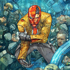 """RED HOOD AND THE OUTLAWS Signed ART PRINT Kenneth Rocafort #6 Cover NEW 17 x 11"""""""