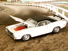 MOPAR MUSCLE 1971 71 DODGE CHALLENGER R/T 426 HEMI V-8 WHITE 1/64 SCALE B49
