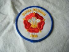 Vintage Cloth Sew on Patch, The Royal Wedding 1981, Diana /Prince Charles