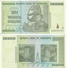 Zimbabwe / Simbabwe [119] - 10 Trillion Dollars 2008 UNC - Pick 88