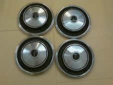 LINCOLN MARK CONTINENTAL WHEEL COVERS CENTER CAPS 1970-71 - Set of 4