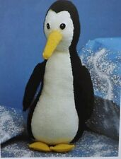 vintage toy Percy Penguin Knitting Pattern