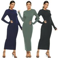 Women's Sexy Dress Long Sleeve Bodycon Sweater Party Dress Ball Gown Dresses