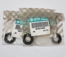 Genuine Fiat , Alfa Romeo Rubber Injector Seals x 3 - 9646510980