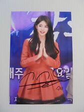 Suzy Bae Miss A 4x6 Photo Korean Actress KPOP autograph signed USA Seller B9