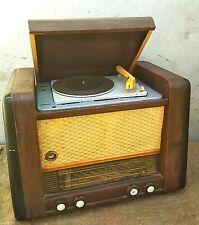 Vintage Radio USSR Radiola Radiogram Record Player