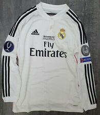 Real Madrid 2014/15 UEFA Super Cup Adizero Match Issue Home Shirt - Ronaldo 7