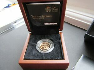 Limited Edition Presentation 2,050 Queen Elizabeth II. Proof Half Sovereign 2013