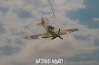 RAF WWII Hawker Hurricane MkIa Christmas Ornament Airplane WGCDR Robert Tuck