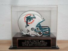 Display Case For Your Zach Ertz Eagles Autographed Football Mini Helmet