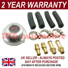 VARIABLE 1-5 PSI FUEL PUMP PRESSURE REGULATOR 8MM 10MM TAILS IN/OUT INCLUDED