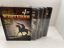 TV Classics Westerns 4 DVD set. Contains 32 Episodes