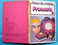 How To Make Presents Ladybird vintage book hobbies craft toys games children