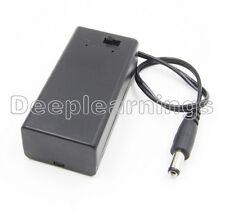 2x 9V porte-batterie avec interrupteur marche//arrêt 9 volt Box Pack Power Toggle