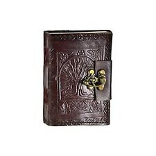 Leather Celtic Tree of Life Book of Shadows Blank Spell Book Wicca ~ by Raven...