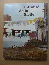 A. t'Serstevens, Willy Roettges - Intimité de la Sicile / EO 1961 éd. numérotée