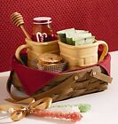 Longaberger OVAL MUFFIN Basket FABRIC LINER ONLY - PAPRIKA RED - Last One!