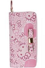 Hello Kitty DEARISIMO Kawaii Long Wallet Purse PINK RIBON SANRIO JAPAN F/S