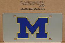 University Of Michigan Wolverines Edelstahl Vanity Kennzeichen