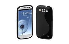 Funda Carcasa De Silicona Gel Negro S ~ Samsung GT i9300 Galaxy S3