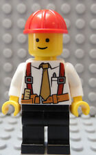 LEGO City Town Utility Civil Engineer Mine Inspector Construction Company Owner