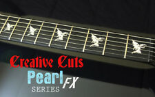 Black Sabbath Devil Iommi SG MOP Vinyl Inlay Sticker Decals for BASS and GUITAR